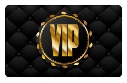free vector Vip card 04 vector