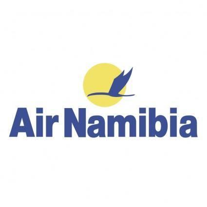 free vector Air namibia