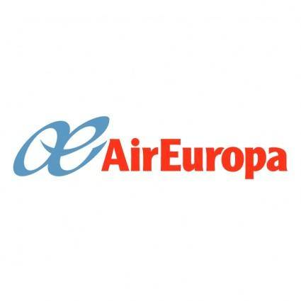 free vector Air europa
