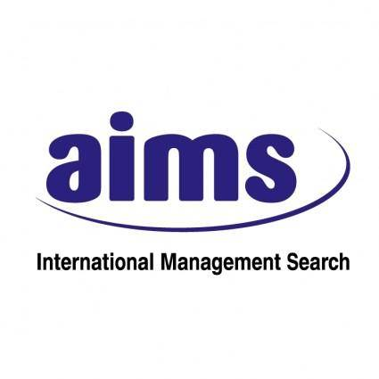 free vector Aims international management search