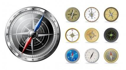 All kinds of compass vector