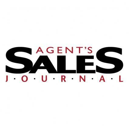 Agents sales journal