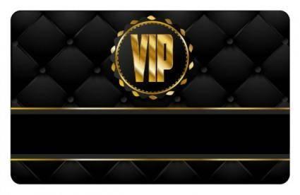 Vip card 05 vector