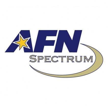 free vector Afn spectrum