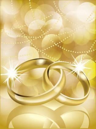 free vector Vector 4 wedding ring