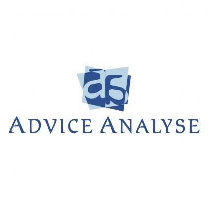 free vector Advice analyse