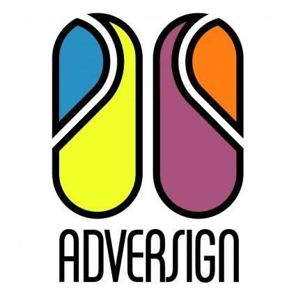 free vector Adversign