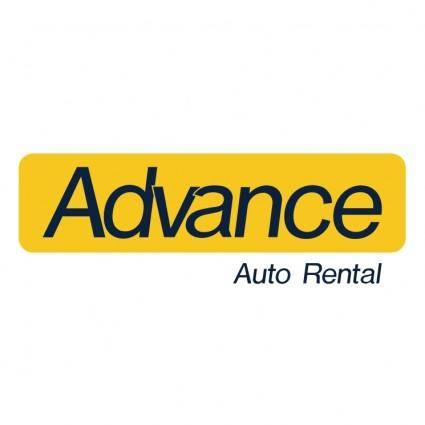 Advance auto rental 0