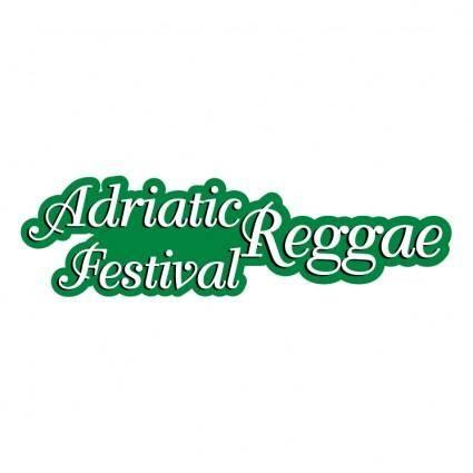 free vector Adriatic festival reggae