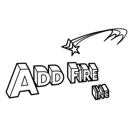 free vector Add fire inc