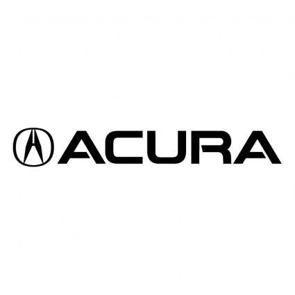 free vector Acura 0