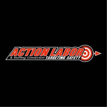 free vector Action labor