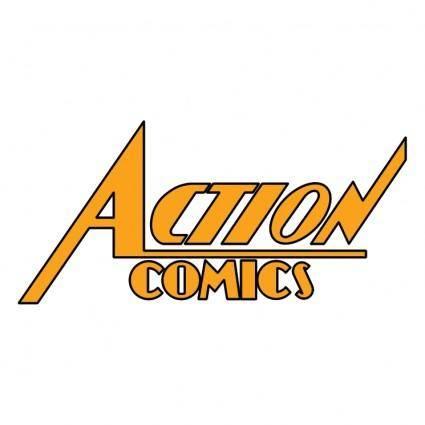 free vector Action comics