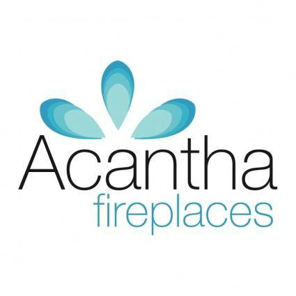free vector Acantha fireplaces