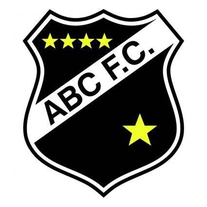free vector Abc futebol clube de natal rn