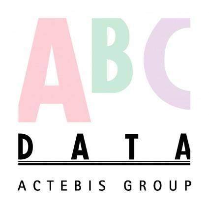 free vector Abc data actebis group
