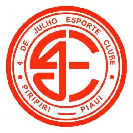 free vector 4 de julho esporte clube de piripiri pi