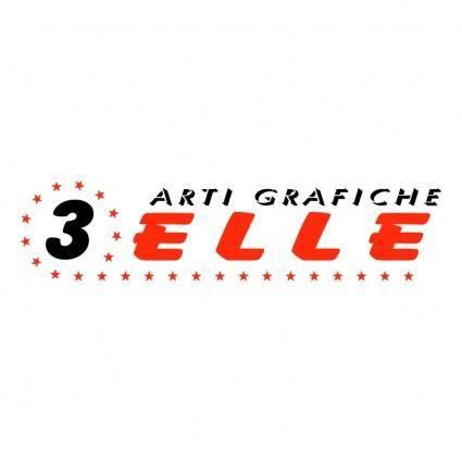 free vector 3elle arti grafiche