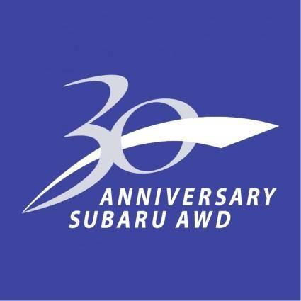 30 anniversary subaru awd