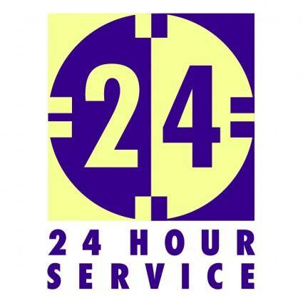 free vector 24 hour service