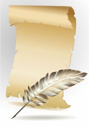 Kraft paper rolls 01 vector