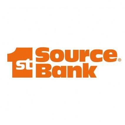 free vector 1st source bank