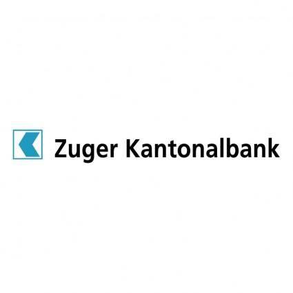 free vector Zuger kantonalbank