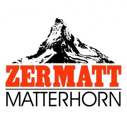 free vector Zermatt matterhorn