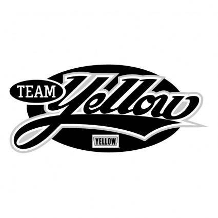 free vector Yellow team