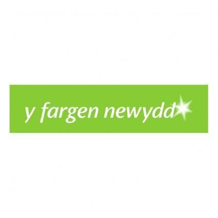 free vector Y fargen newydd