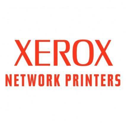 Xerox network printers
