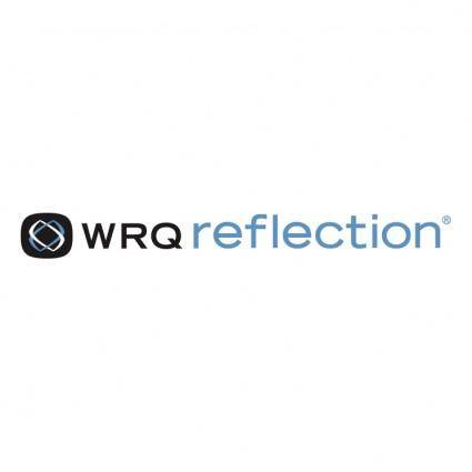 free vector Wrq reflection