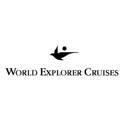 free vector World explorer cruises