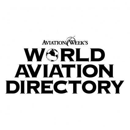 free vector World aviation directory