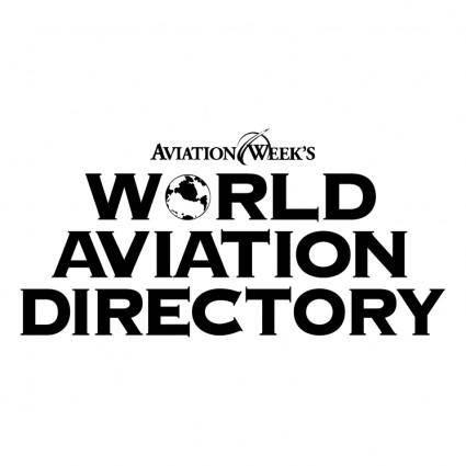 World aviation directory