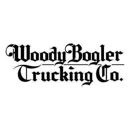 free vector Woody bogler trucking