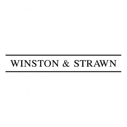 Winston strawn