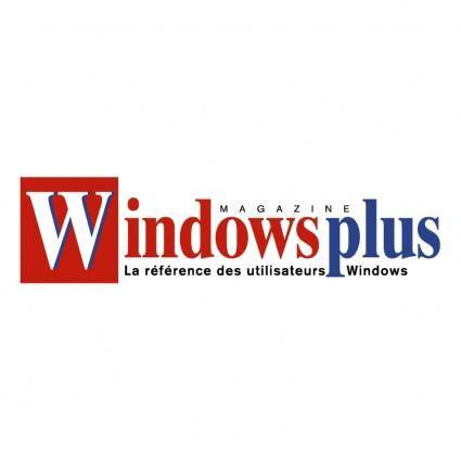 free vector Windows plus