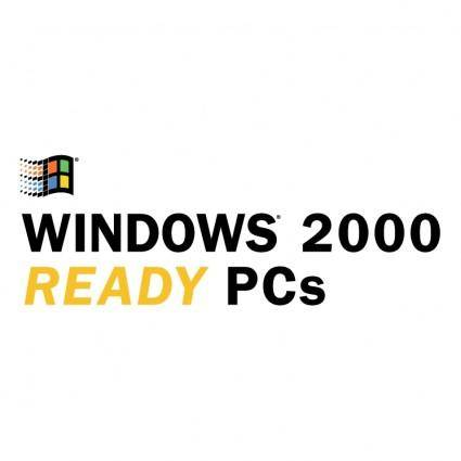 Windows 2000 ready pcs 0