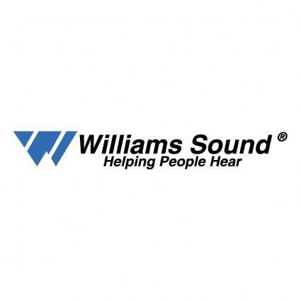 free vector Williams sound