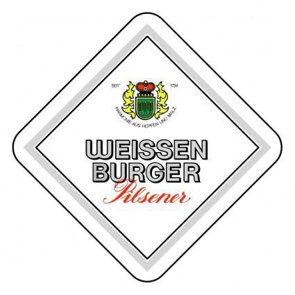 free vector Weissen burger pilsner