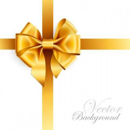 Beautiful ribbon bow 01 vector