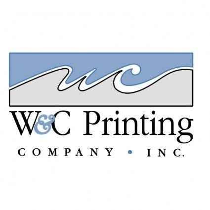 free vector Wc printing company