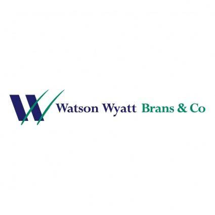 free vector Watson wyatt brans co