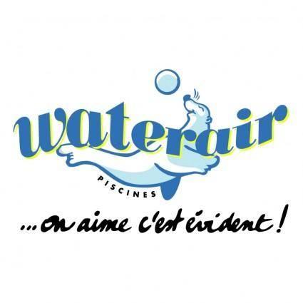 free vector Waterair piscines