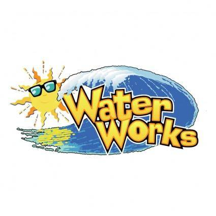 free vector Water works