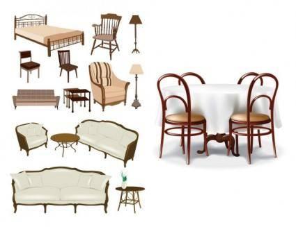 free vector Furniture vector