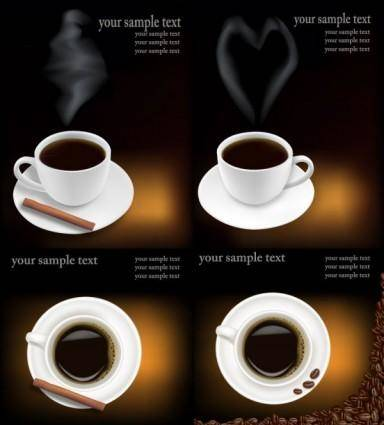 Coffee theme vector