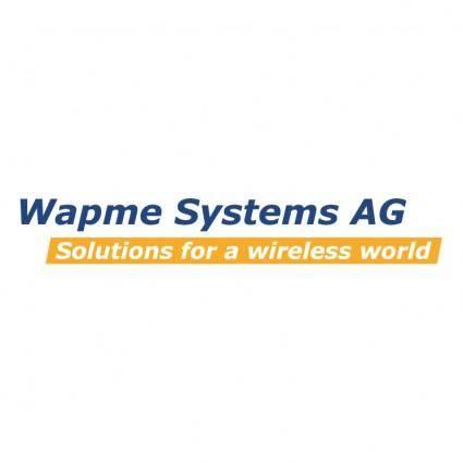 free vector Wapme systems