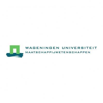free vector Wageningen universiteit
